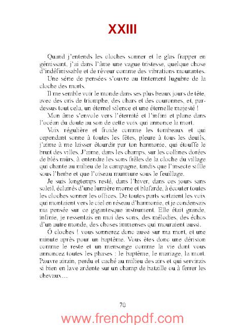 Mémoires d'un fou de Gustave Flaubert 4