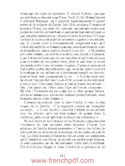 Un début dans la vie Honoré de Balzac 3