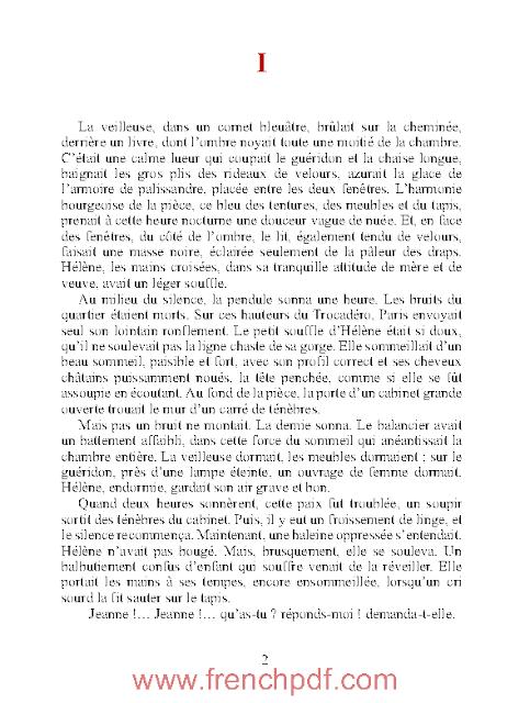 Une page d'amour en pdf gratuit d'Emile Zola 2