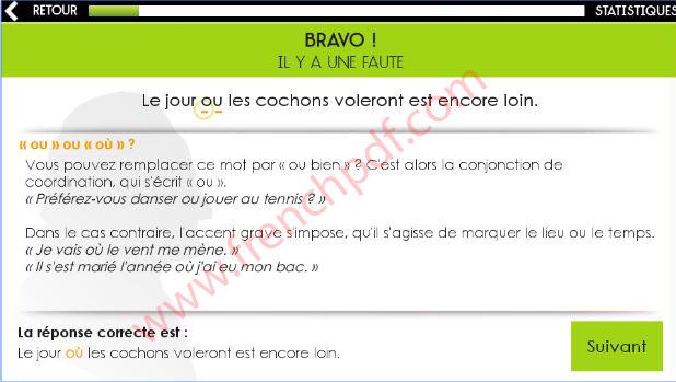 Orthographe Projet Voltaire à télécharger gratuitement 2