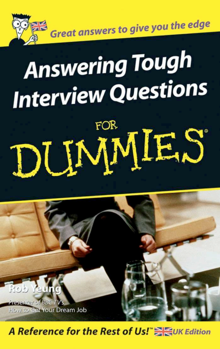 Answering Tough Interview Questions PDF for dummies 1