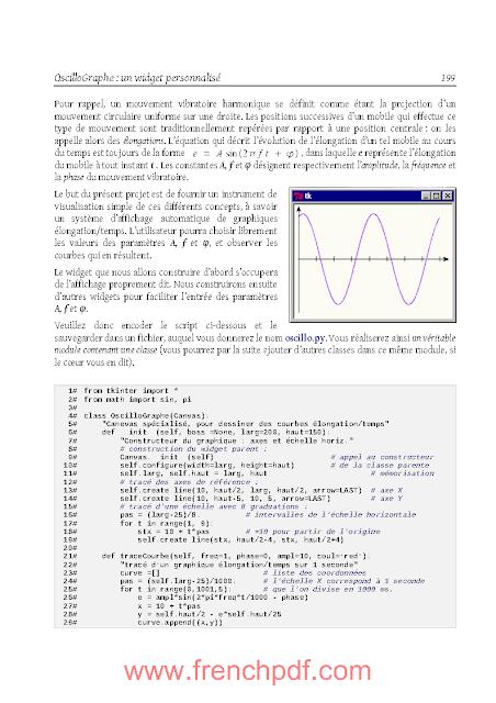 Apprendre à programmer avec Python 3 en PDF gratuitement 2