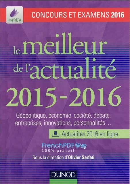 Le meilleur de l'actualité 2015-2016 PDF Gratuit 2