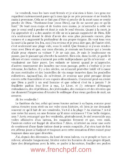 Roman: Meursault, contre-enquête en pdf de Kamel Daoud 4