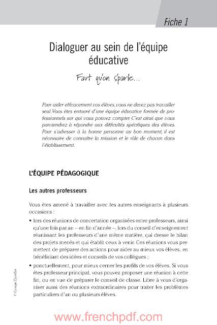 Aider les élèves en difficulté par Sandrine Maury PDF Gratuit 3