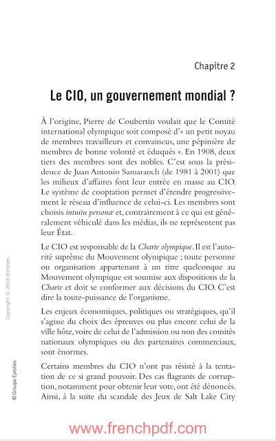 JO politiques: Sport et relations internationales en PDF Gratuit 3
