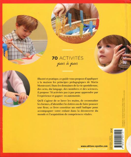Activités d'après la pédagogie montessori en pdf gratuit 2