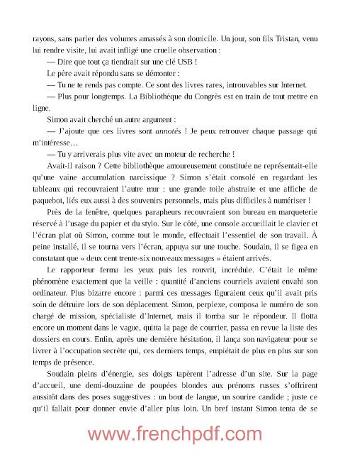 Roman: L'ordinateur du paradis en pdf de Benoit Duteurtre 3