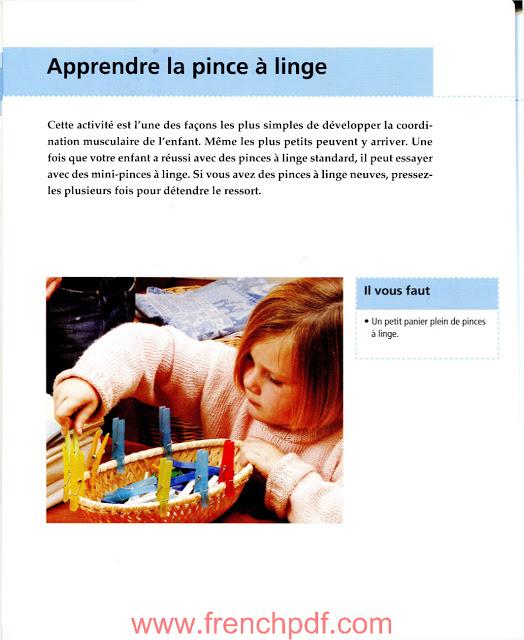 Activités d'après la pédagogie montessori en pdf gratuit 6