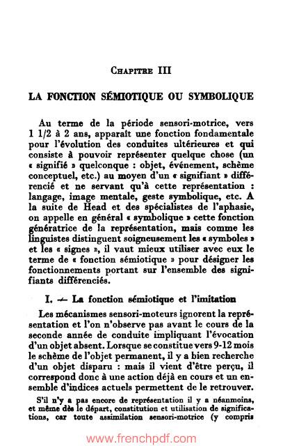 La psychologie de l'enfant PDF de Jean Piaget livre gratuit 4