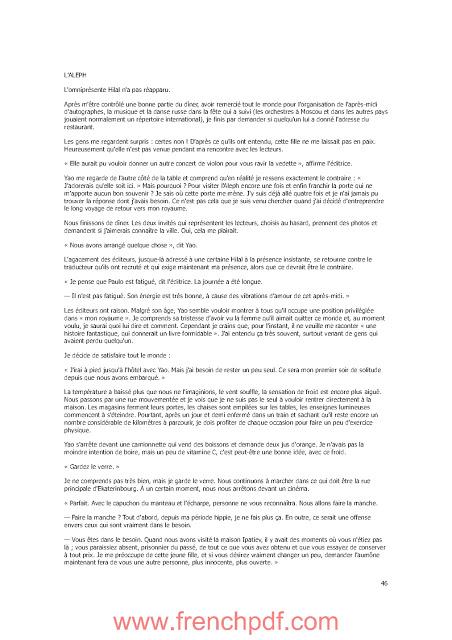 Roman Aleph en PDF de Paulo Coelho à télécharger gratuitement 3