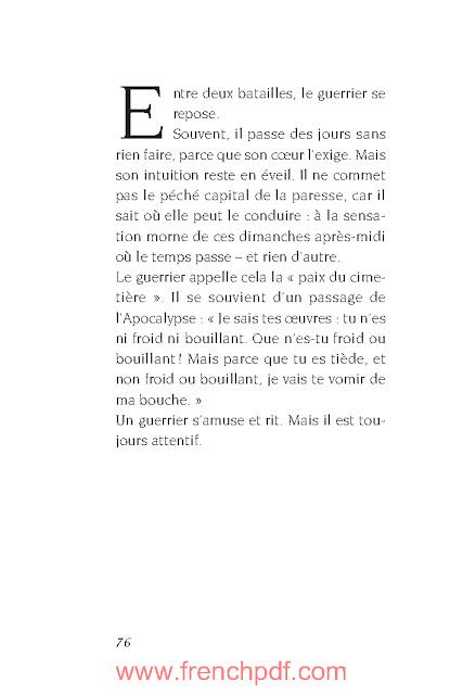 Manuel du Guerrier de la lumière par Paulo Coelho PDF Gratuit 3