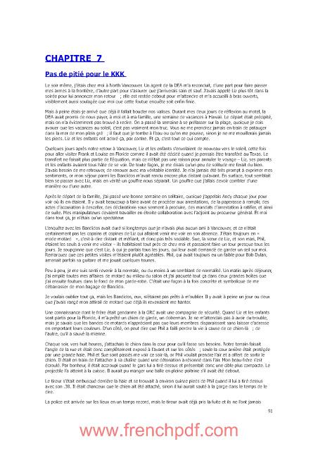Métier infiltrateur - Ma vie parmi les criminels PDF Gratuit 6