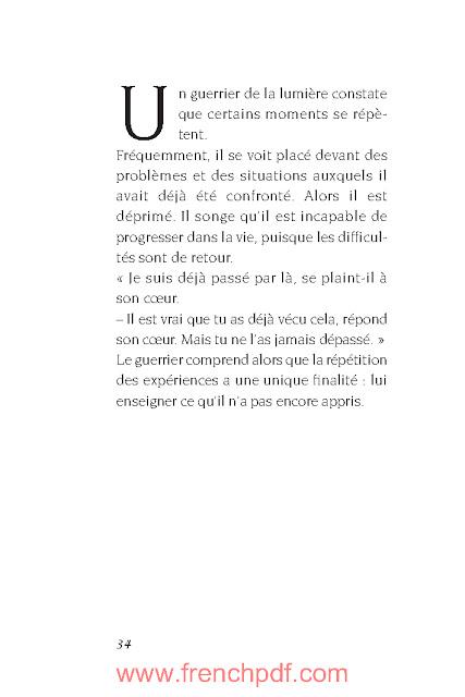 Manuel du Guerrier de la lumière par Paulo Coelho PDF Gratuit 5