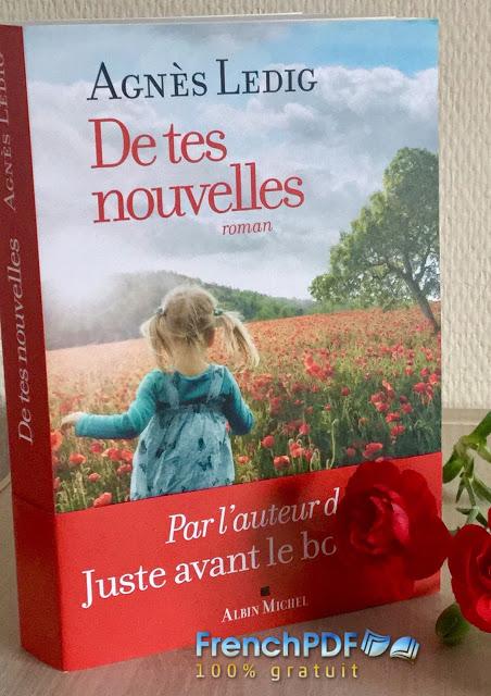 Roman : De tes nouvelles par Agnès Ledig PDF Gratuit 1