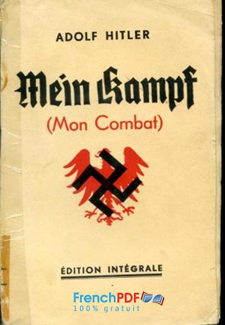 Livre De Adolf Hitler Mon combat en pdf Mein Kamp 1