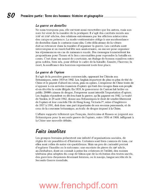 La Culture générale pour les nuls de Florence Braunstein et Jean-François Pépin PDF Gratuit 3