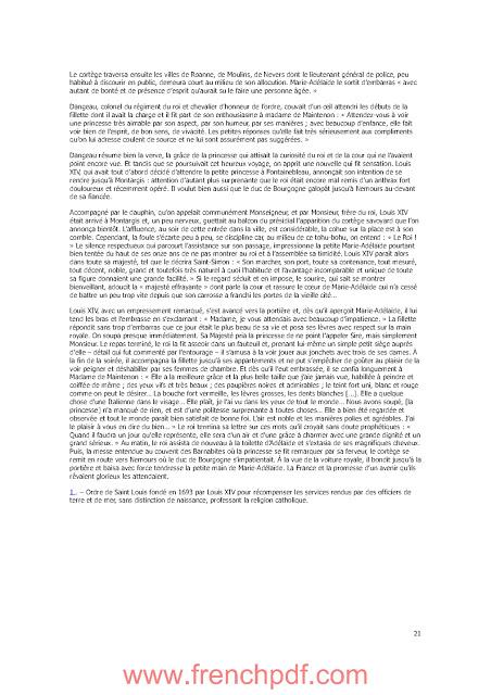 Roman: La duchesse de Bourgogne de Martial Debriffe PDF Gratuit 3
