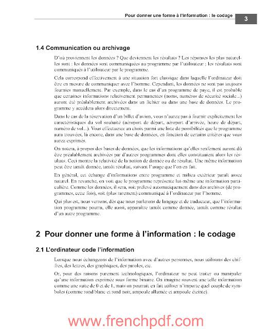S'initier à la programmation PDF de Gratuit 2