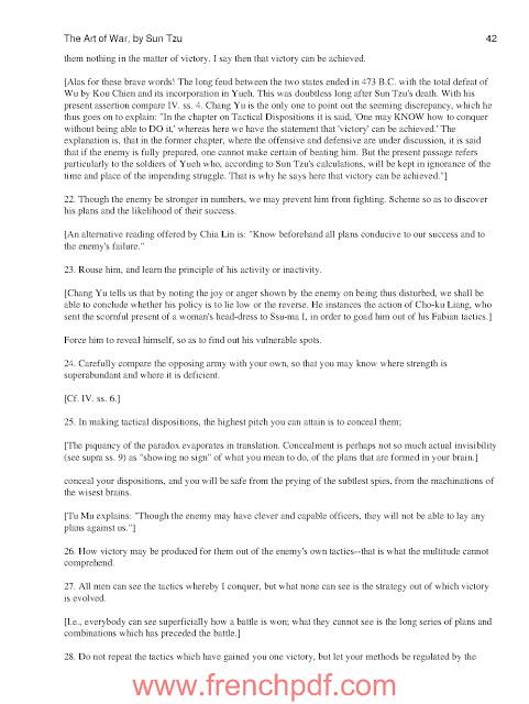 The Art of War de Sun Tzu (préféré de Donald Trump) PDF Gratuit 6