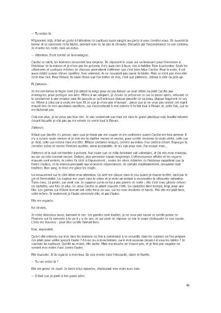 Roman: Six fourmis blanches de Sandrine Collette EPUB 4