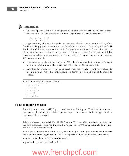 S'initier à la programmation PDF de Gratuit 4