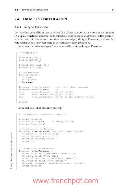 Algorithmes et structures de données génériques de Michel Divay PDF Gratuit 5
