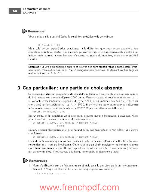 S'initier à la programmation PDF de Gratuit 6