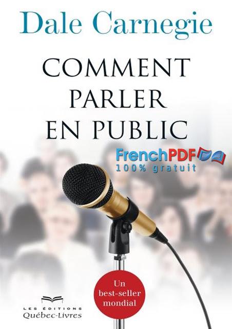 Comment parler en public de Dale Carnegie PDF Gratuit 1