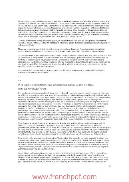 Nouveau mémorial Sherlock Holmes de Jacques Baudou et Paul Gayot PDF Gratuit 2