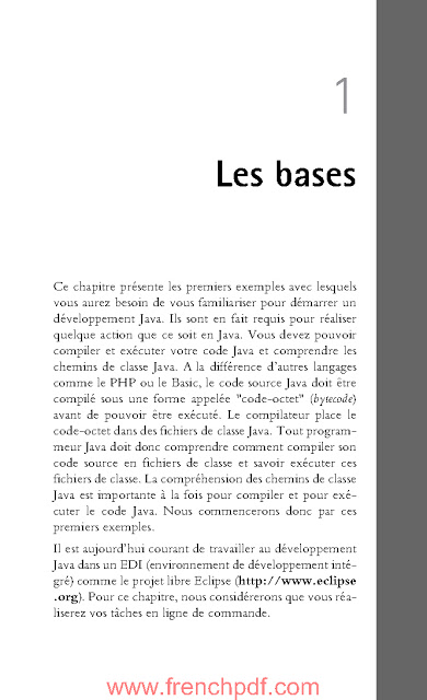 Java, l'essentiel du code et des commandes de Timothy Fisher PDF Gratuit 2