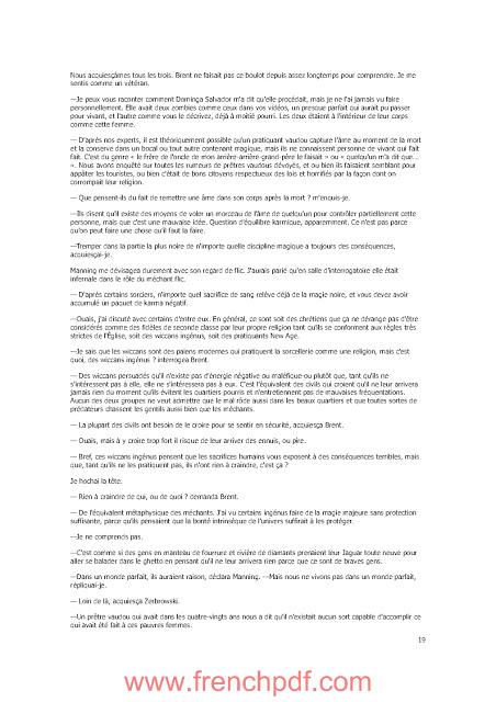 Roman: Coeur de Glace Par Laurell K. Hamilton en pdf 3