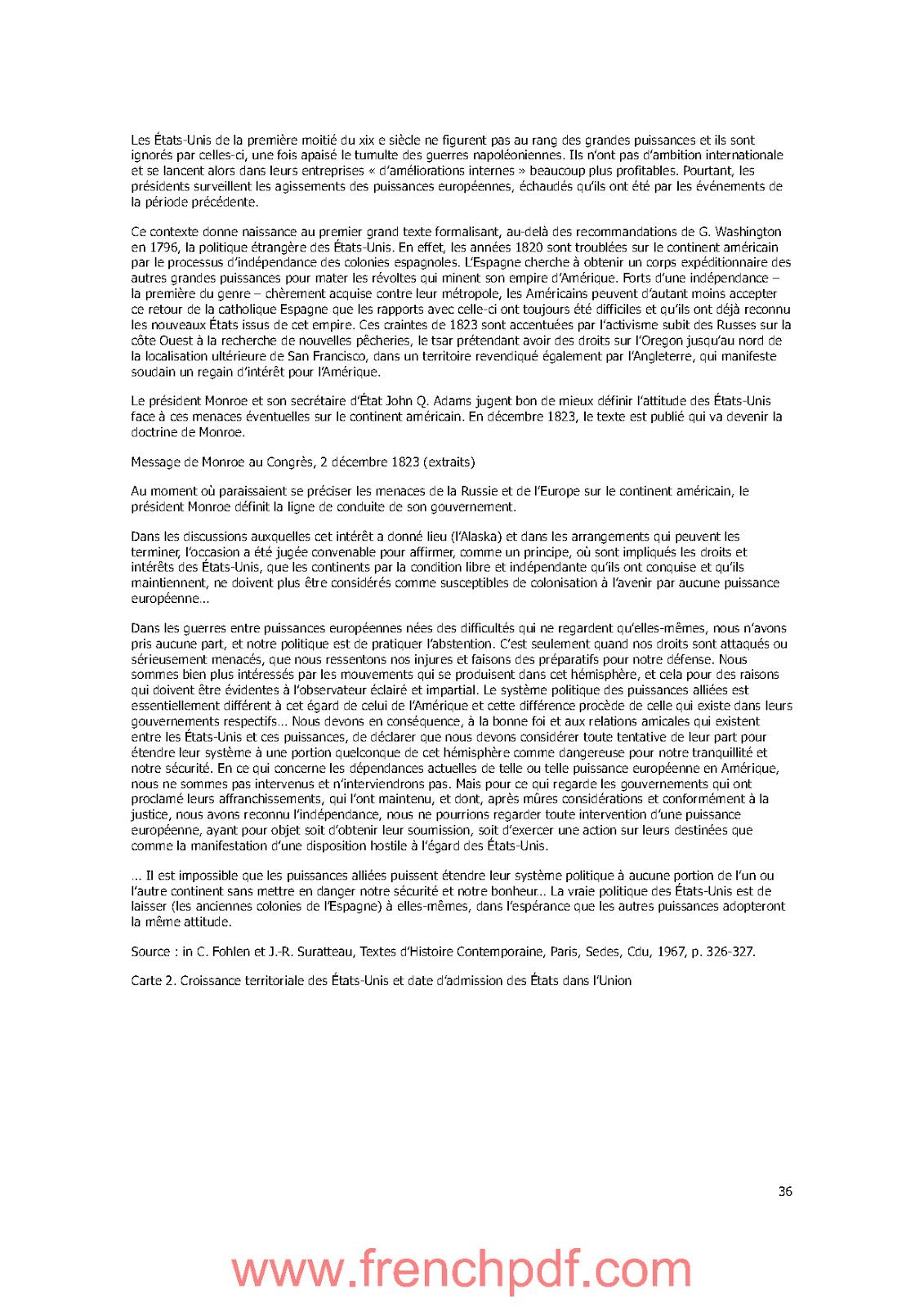 Histoire des Etats-Unis de 1776 à nos jours de Jacques Portes PDF Gratuit 3