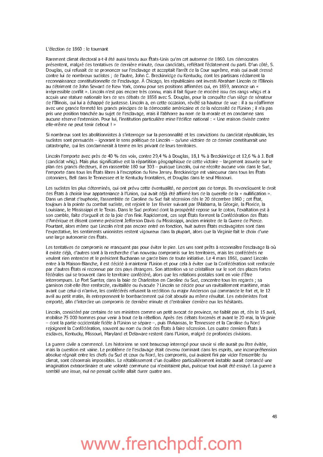 Histoire des Etats-Unis de 1776 à nos jours de Jacques Portes PDF Gratuit 5