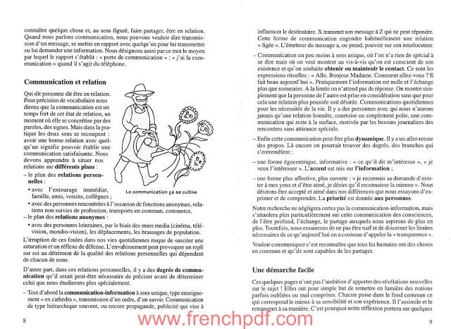 Vivre la Communication PDF de Colette Bizourad 1
