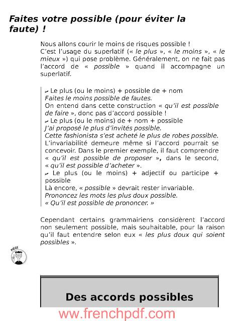 L'essentiel des pièges et difficultés de la langue française pour les Nuls 3