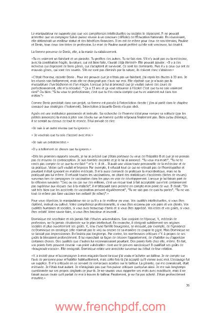 Les manipulateurs et l'amour de Isabelle Nazare-aga 1