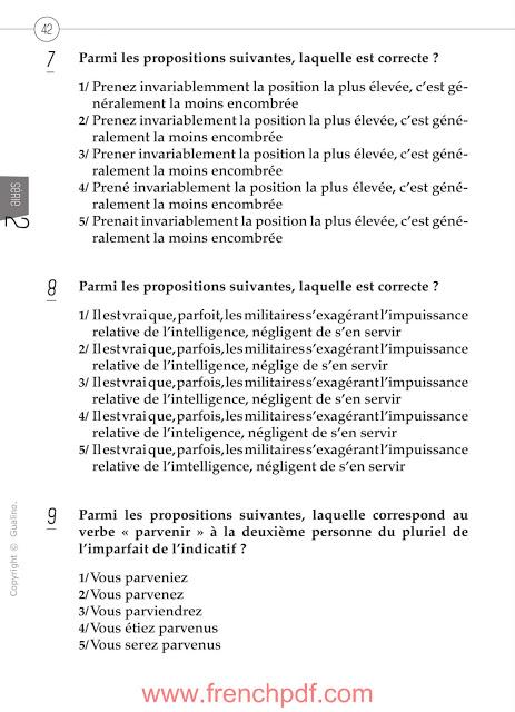 200 questions de compréhension et expression écrite en français 4