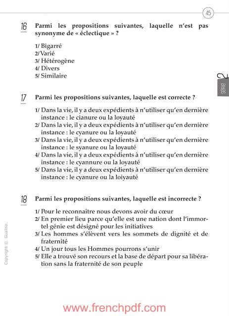 200 questions de compréhension et expression écrite en français 6