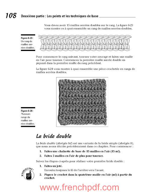 Le crochet pour les nuls en pdf de Julie ARMSTRONG HOLETZ 4