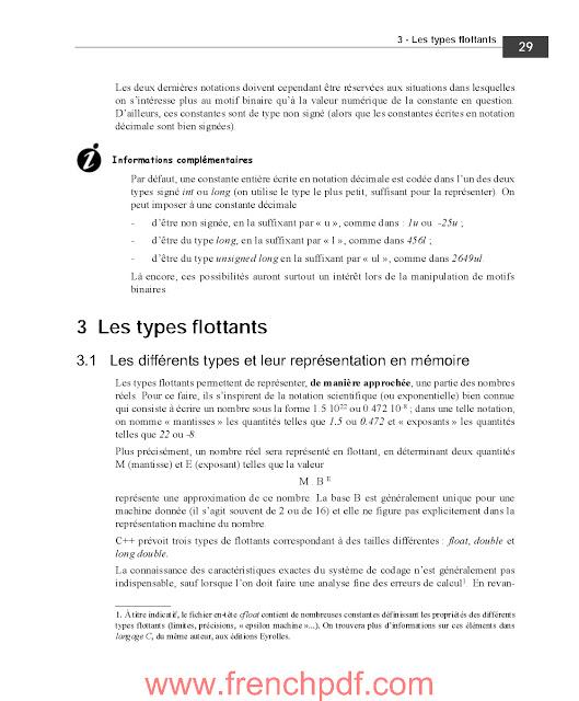 Apprendre le C++ PDF gratuitement de Claude Delannoy 4
