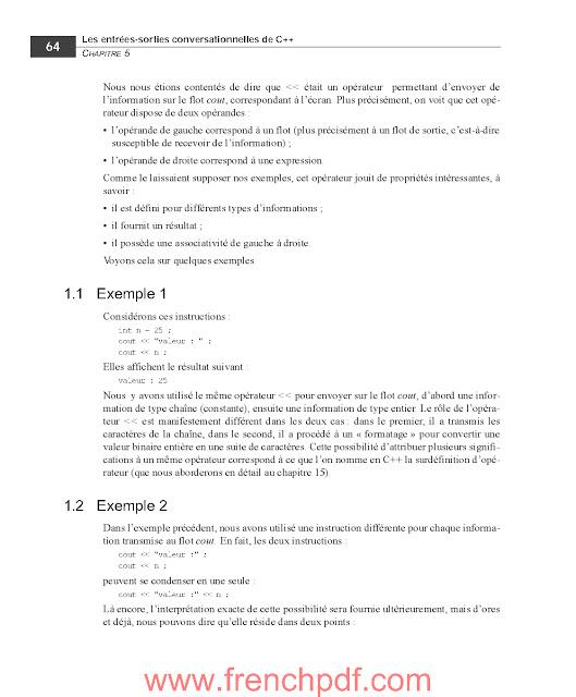 Apprendre le C++ PDF gratuitement de Claude Delannoy 6