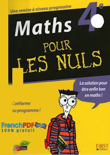 Maths pour les nuls 4ème en pdf 1
