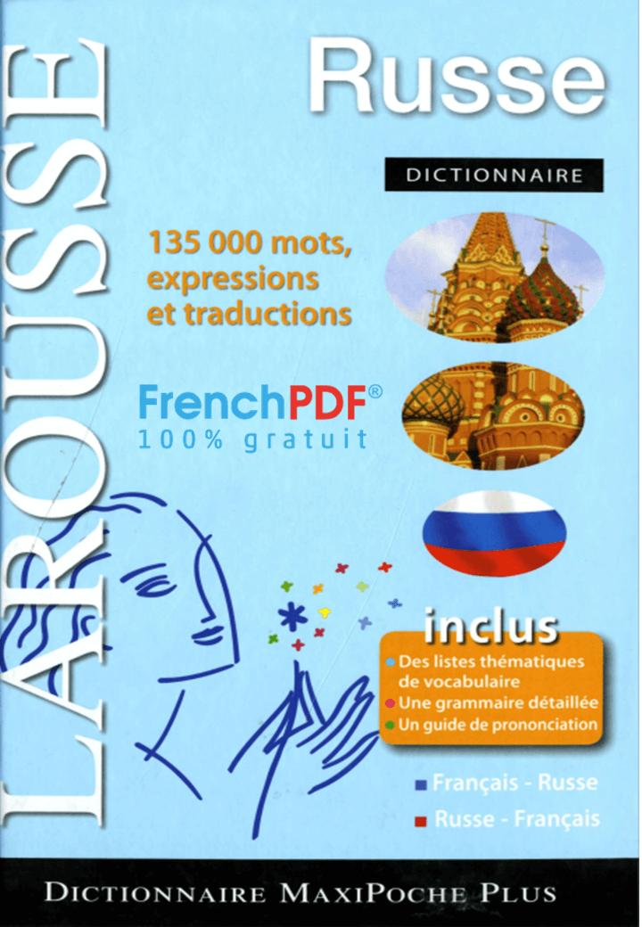 Dictionnaire russe 135.000 mots, expressions et traductions 2