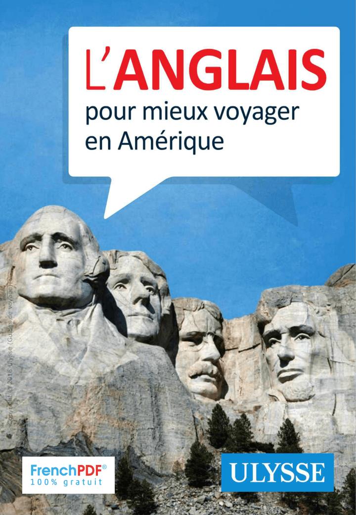 L'anglais pour mieux voyager en Amérique 1