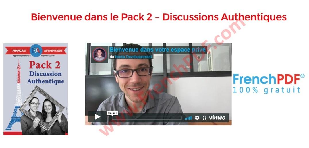 Pack 2 Français Authentique Acheter en ligne 2