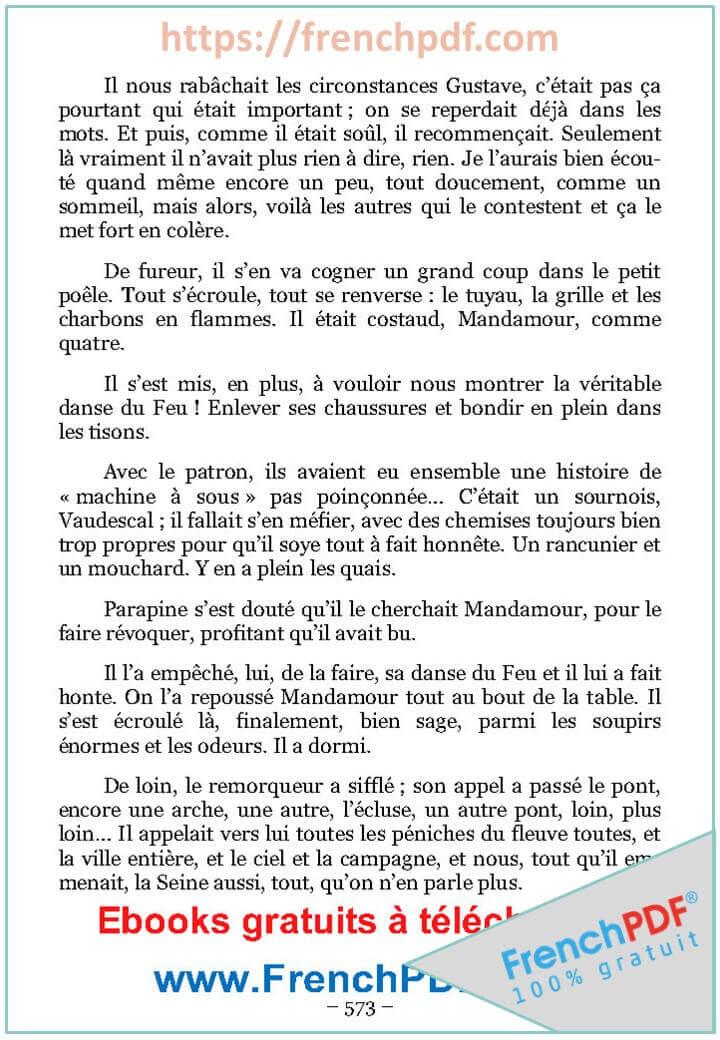 Source: Voyage au bout de la nuit PDF de Louis-Ferdinand Céline.