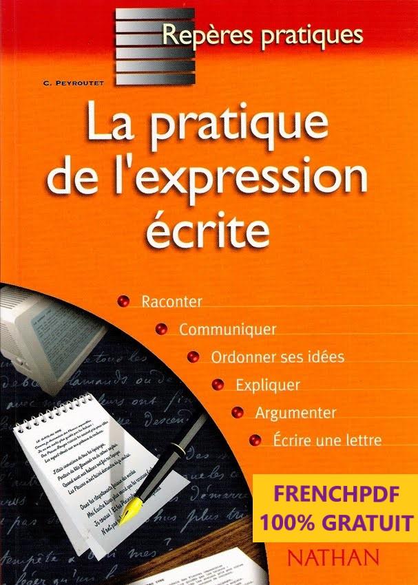 Livre numérique Pratique de l'expression écrite pdf 1