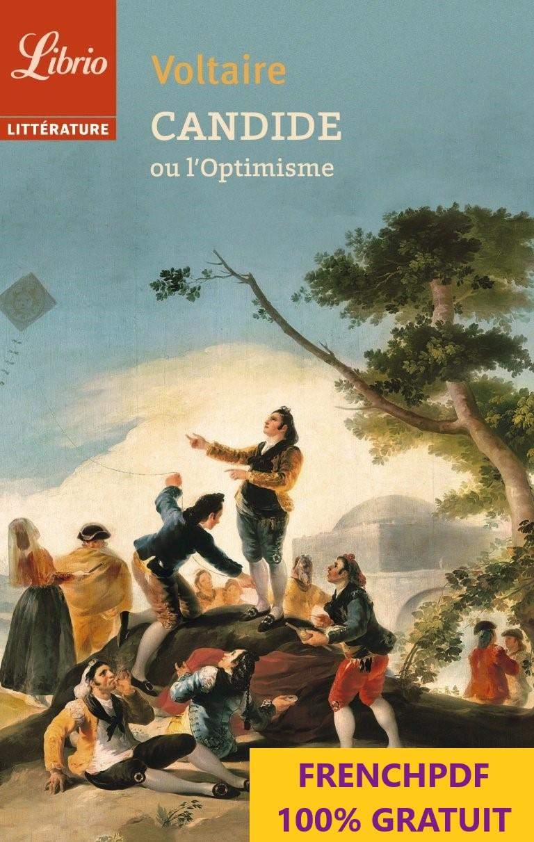 Candide ou l'optimisme en pdf de Voltaire 1