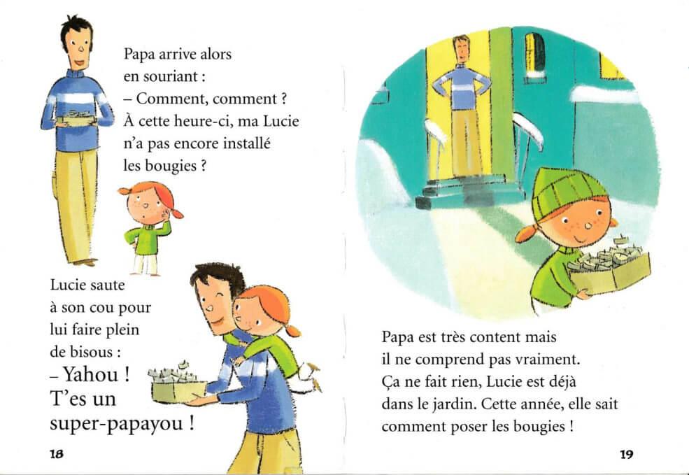 Livre pour enfant: Coucou Père Noël ! Par Palluy, Christine 1